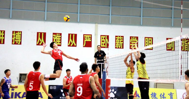 SHANGHAI TASTE FIRST VICTORY AT CHINESE MEN'S VOLLEYBALL CHAMPIONSHIP