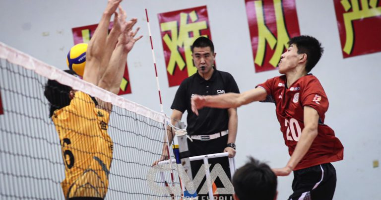 BEIJING, ZHEJIANG CONTINUE UNBEATEN RUN AT CHINESE MEN'S VOLLEYBALL CHAMPIONSHIP