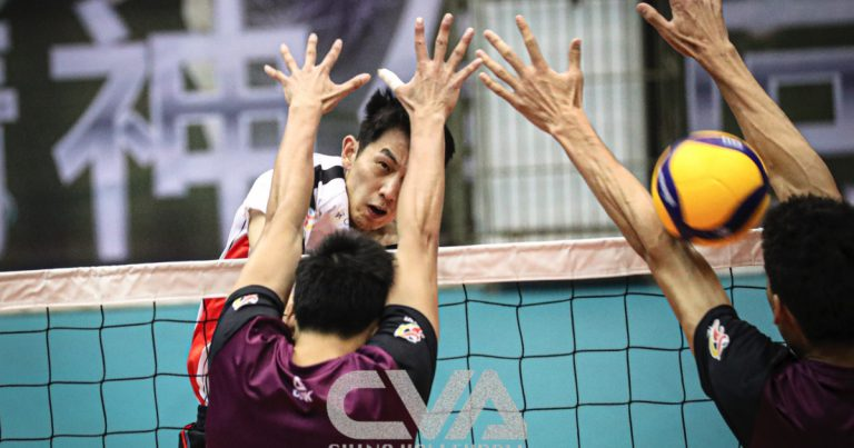 QUARTER-FINALISTS CONFIRMED IN CHINESE MEN'S VOLLEYBALL CHAMPIONSHIP