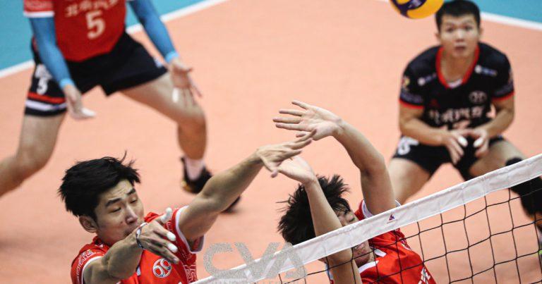 UNBEATEN ZHEJIANG THROUGH TO CHINESE MEN'S VOLLEYBALL CHAMPIONSHIP SEMI-FINALS