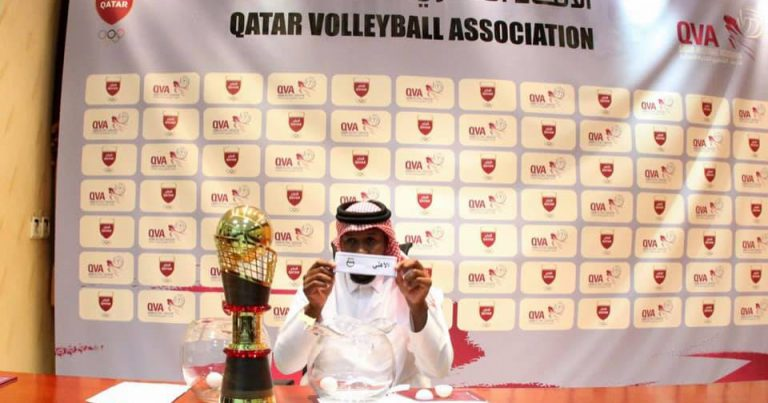 QVA HOLDS DRAW FOR THE AMIR VOLLEYBALL CUP 2019-2020 QUALIFIERS