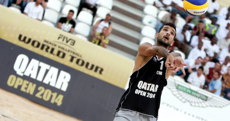 AL SHEREIQI PUTTING OMAN BEACH VOLLEYBALL ON THE MAP