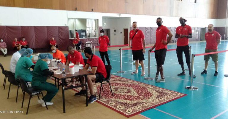 QATARI TEAMS UNDERGO COVID-19 SWAB TEST AHEAD OF THE START OF VOLLEYBALL LEAGUE
