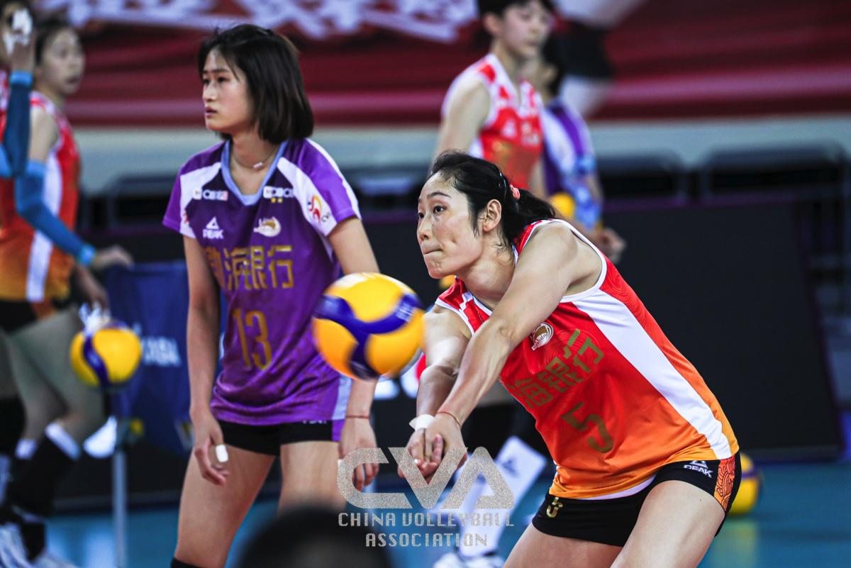 TIANJIN, GUANGDONG, JIANGSU CAPTURE STRAIGHT-SET WINS IN CHINESE WOMEN'S VOLLEYBALL LEAGUE