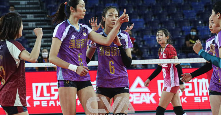 TIANJIN CLAIM OPENING VICTORY IN CHINESE WOMEN'S VOLLEYBALL LEAGUE