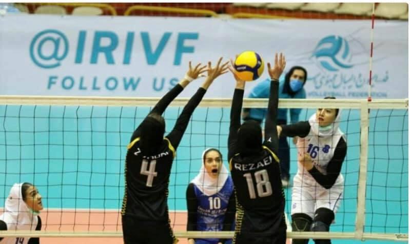 WOMEN'S VOLLEYBALL LEAGUE KICKS OFF IN IRAN