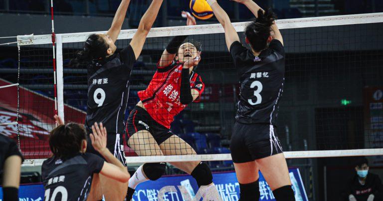 SHANGHAI OUTCLASS FUJIAN IN CHINESE WOMEN'S VOLLEYBALL LEAGUE