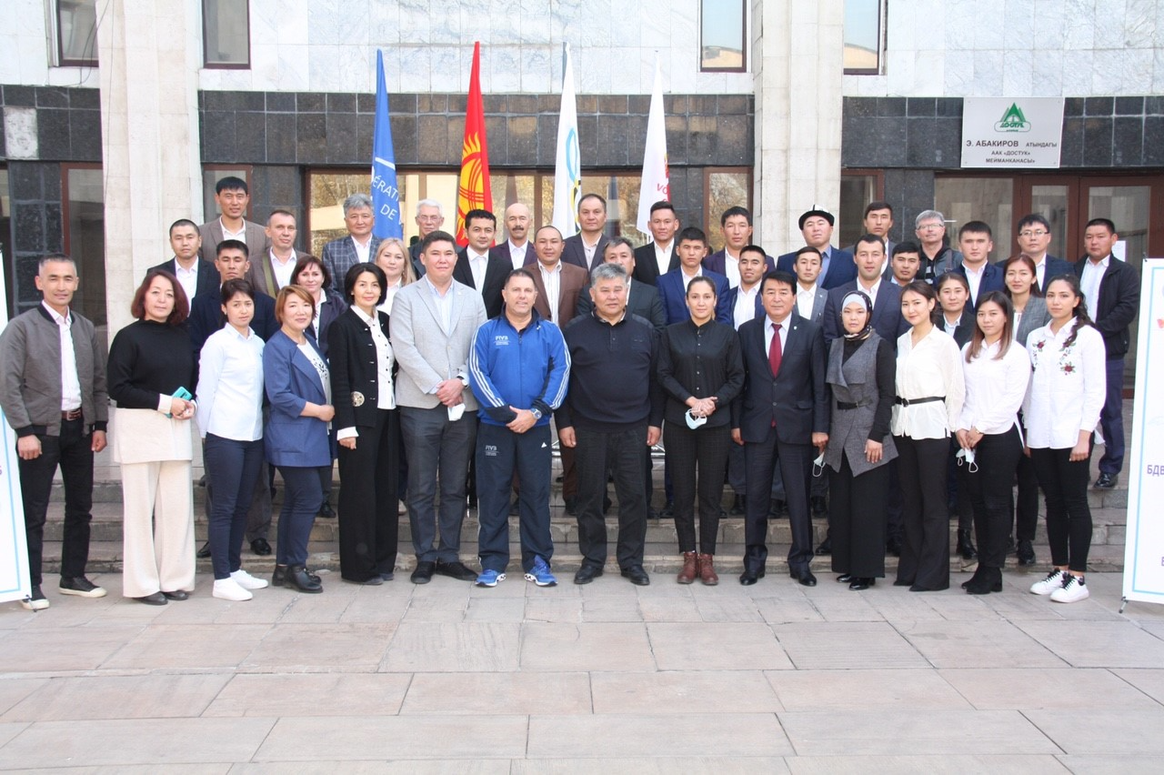 FIVB LEVEL-1 COACHES COURSE COMPLETED IN KYRGYZSTAN