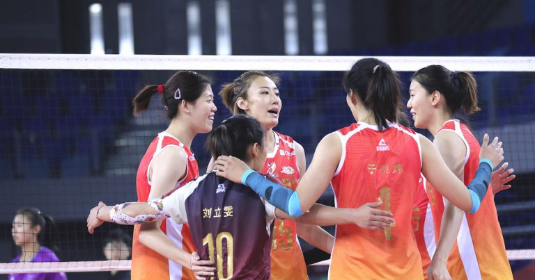 SHANGHAI DEFEAT HENAN TO SECURE SECOND PLACE IN CHINESE WOMEN'S VOLLEYBALL LEAGUE
