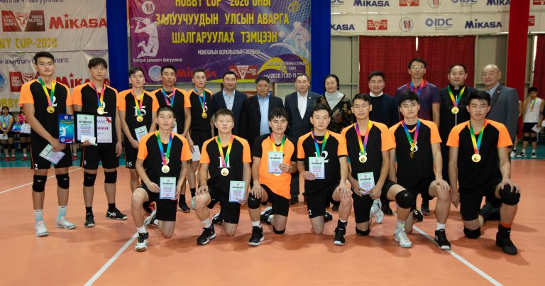 KHILCHIN ALTAIN BARS, ENACOREE REIGN SUPREME AT 2020 MONGOLIAN YOUTH NATIONAL VOLLEYBALL CHAMPIONSHIPS