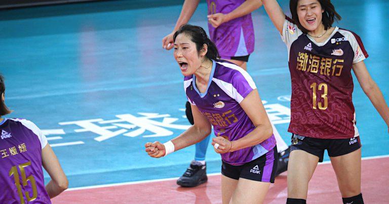 TIANJIN, JIANGSU CLAIM OPENING WINS IN SEMIFINALS OF CHINESE WOMEN'S VOLLEYBALL LEAGUE