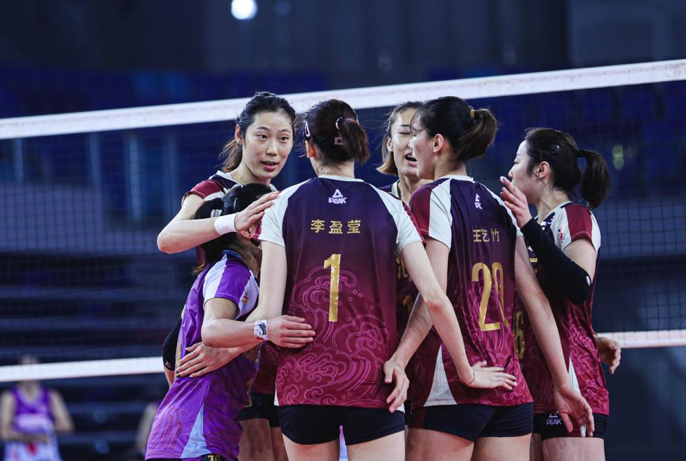 TIANJIN, JIANGSU MARCH INTO CHINESE WOMEN'S VOLLEYBALL LEAGUE FINALS