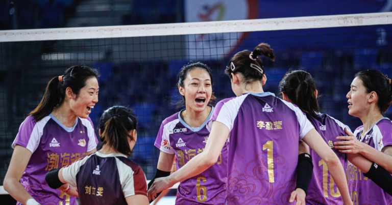 TIANJIN, JIANGSU TO CONTEST DECIDER AFTER 1-1 IN CHINESE WOMEN'S VOLLEYBALL LEAGUE FINALS