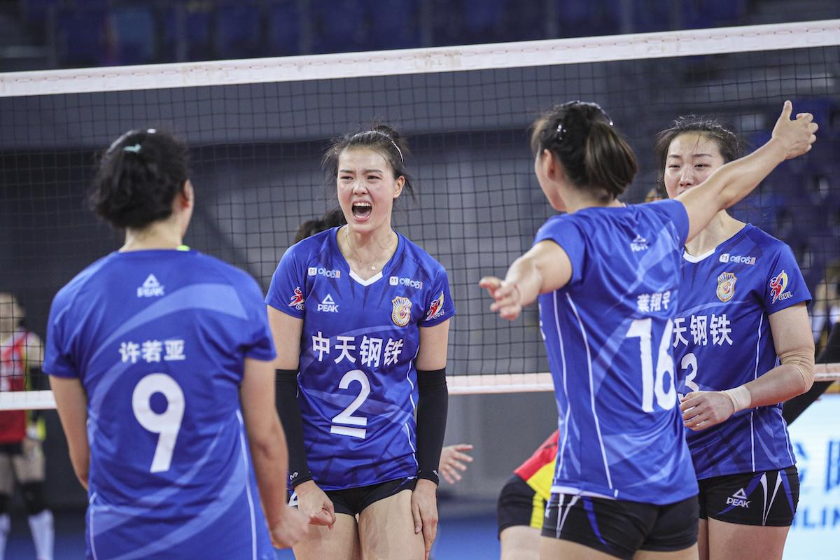 JIANGSU UPSET SHANGHAI, TIANJIN BEAT LIAONING IN CHINESE WOMEN'S VOLLEYBALL LEAGUE