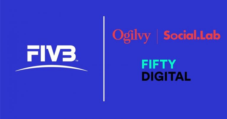 FIVB APPOINTS OGILVY SOCIAL.LAB AND FIFTY DIGITAL TO RUN GLOBAL PROMOTIONAL CAMPAIGN ON ROAD TO VOLLEYBALL WORLD CHAMPIONSHIPS 2022