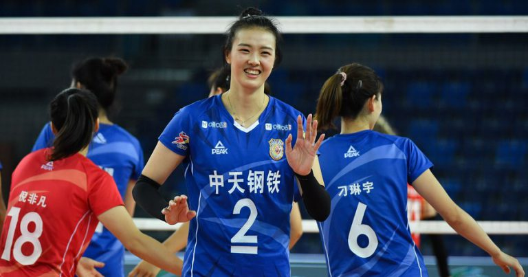 JIANGSU CLAIM OPENIGN WIN IN CHINESE WOMEN'S VOLLEYBALL LEAGUE FINALS