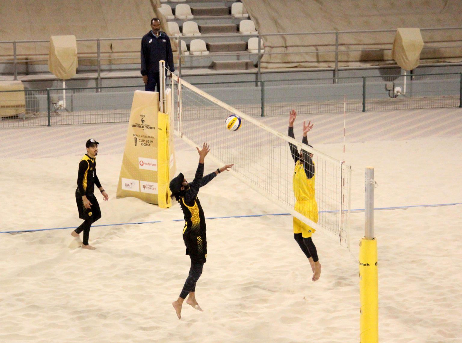 QATAR GETS INAUGURAL MEN'S BEACH VOLLEYBALL LEAGUE OFF THE GROUND