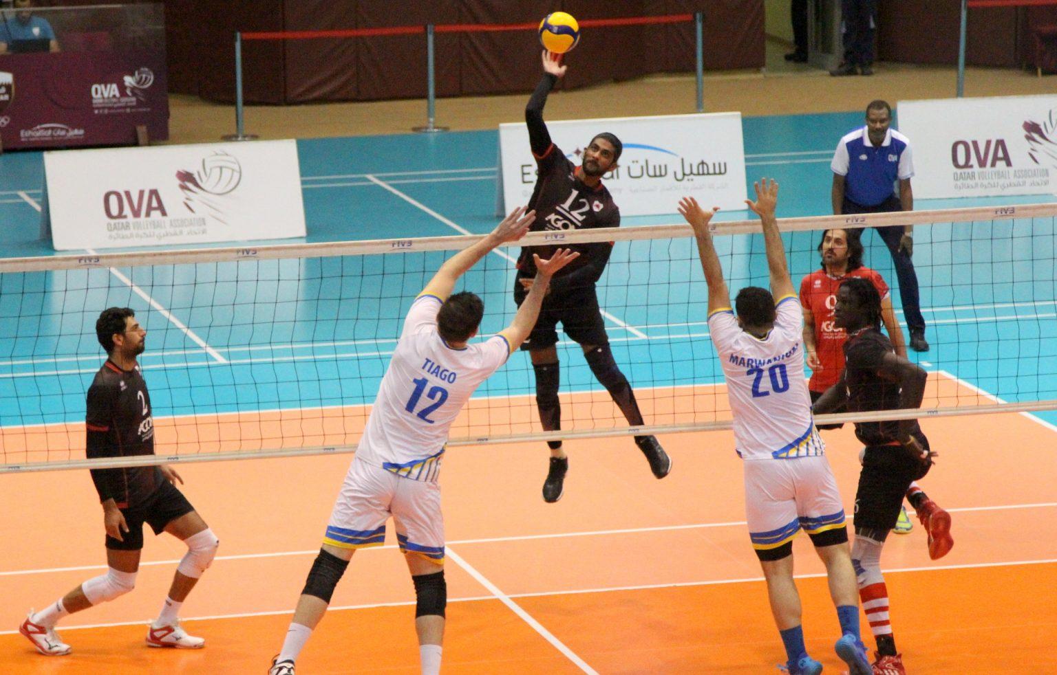 AL-WAKRAH, AL RAYYAN RECORD WINS AT QATAR SENIOR MEN'S LEAGUE