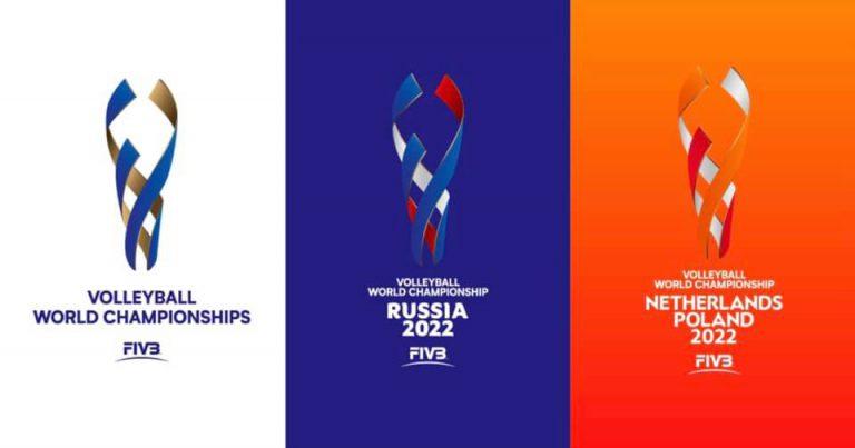 ELEGANT LOGOS FOR FIVB VOLLEYBALL WORLD CHAMPIONSHIPS 2022 REVEALED