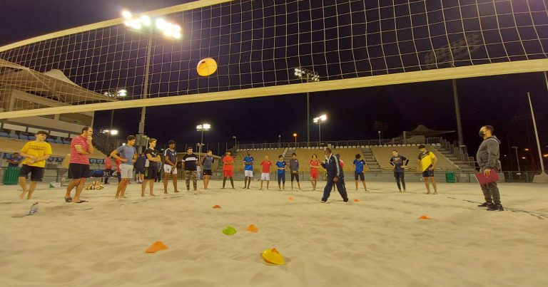 PLAYERS JOIN PHYSICAL FITNESS TESTS AHEAD OF QATAR BEACH VOLLEYBALL LEAGUE 2020-2021