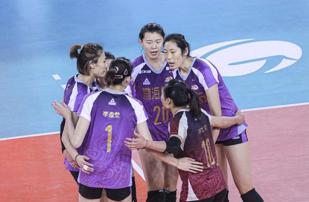 TIANJIN, JIANGSU TOP POOLS IN CHINESE WOMEN'S VOLLEYBALL LEAGUE