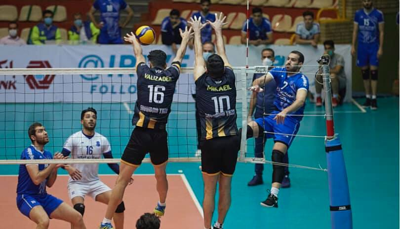 ALL WEEK 17 MATCHES OF IRAN MEN'S PREMIER LEAGUE END IN STRAIGHT SETS