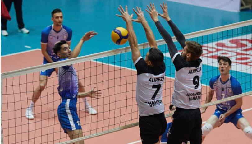 URMIA SHAHRDARI MOVE ATOP IRAN MEN'S PREMIER LEAGUE STANDINGS