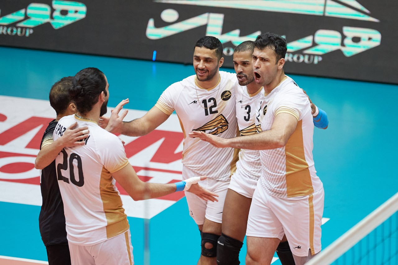 RAMSAR HOURSAN MOVE A STEP CLOSER TO PLAYOFFS IN IRAN MEN'S SUPER LEAGUE