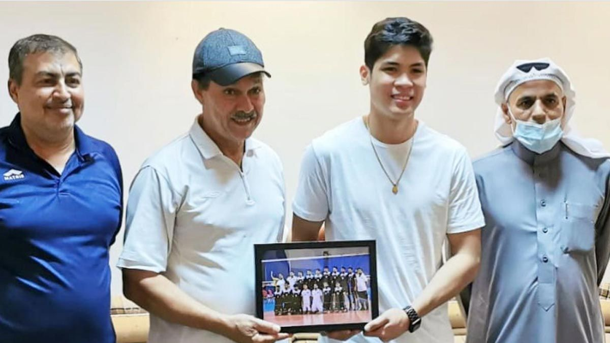 FILIPINO IMPORT ESPEJO HONOURED BY BAHRAIN LEAGUE VC BANI JAMRA