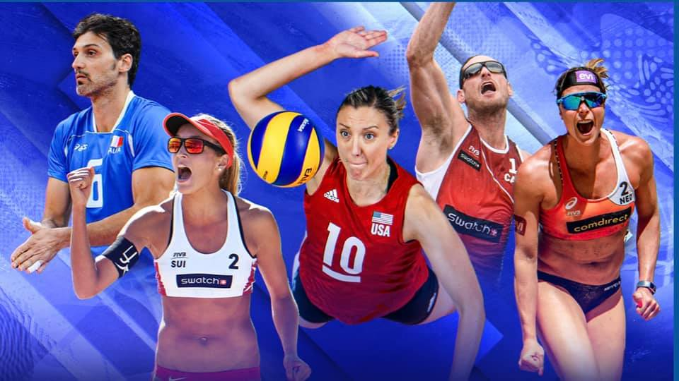 THREE FEMALE AND TWO MALE ATHLETES ELECTED TO FIVB ATHLETES' COMMISSION