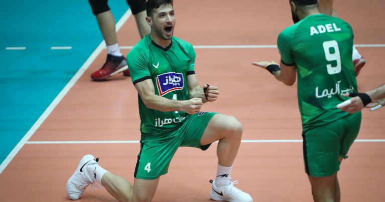 URMIA, AMOL CLAIM AWAY WINS AT IRAN MEN'S SUPER LEAGUE PLAYOFFS