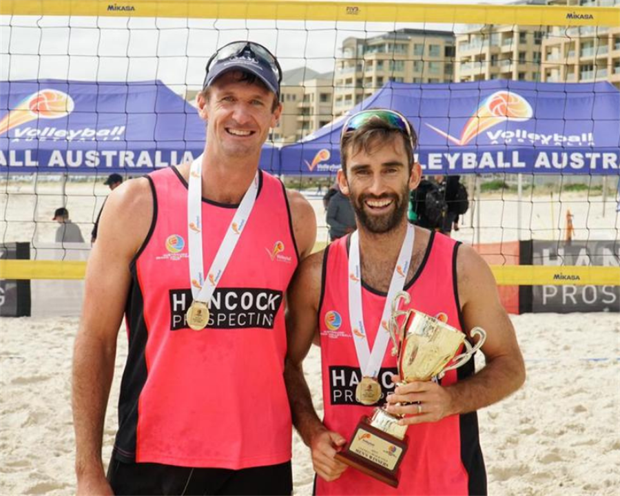 SCHUMANN AND MCHUGH CLAIM ANOTHER AUSTRALIAN BEACH VOLLEYBALL TOUR WIN IN GLENELG