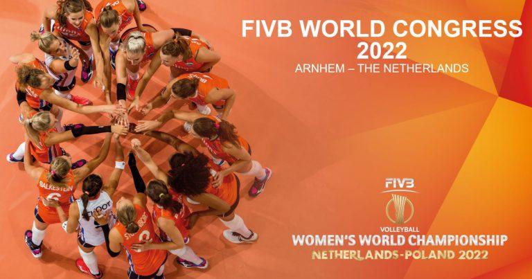 ARNHEM, NETHERLANDS TO HOST 38TH FIVB WORLD CONGRESS IN 2022