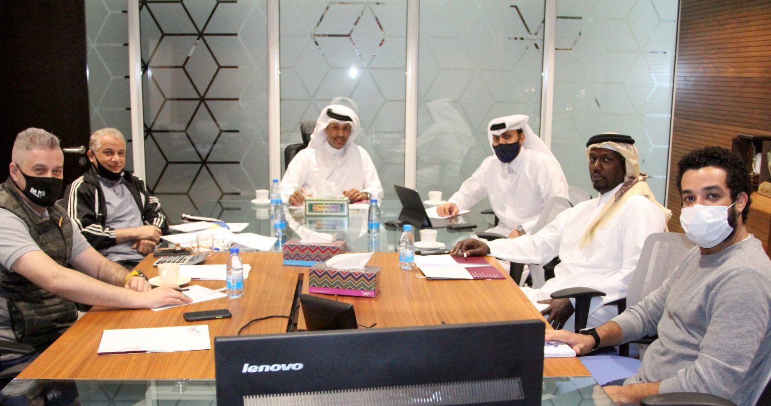 MEETING HELD TO REVIEW FINAL PREPARATION FOR FIVB BEACH VOLLEYBALL WORLD TOUR IN QATAR