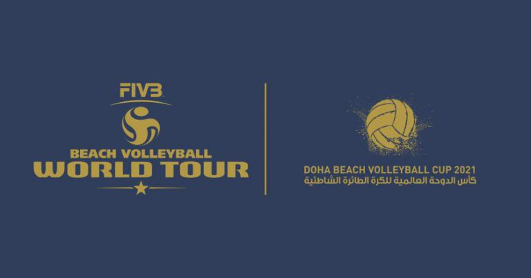 STAGE SET FOR DOHA BEACH VOLLEYBALL CUP 2021