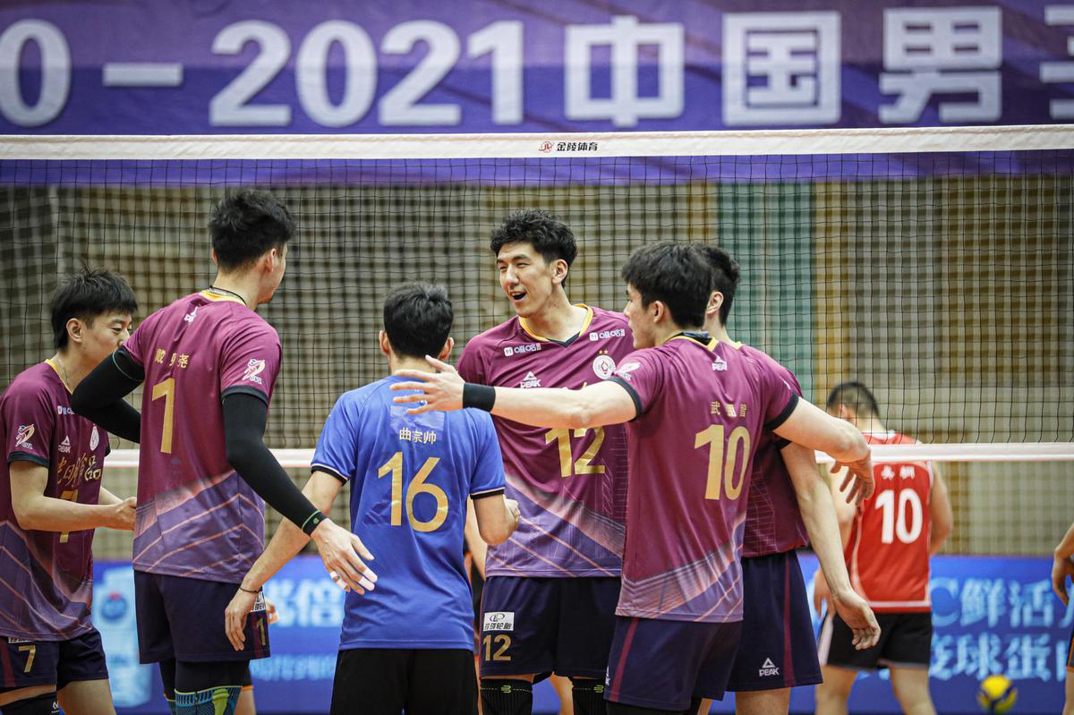 BEIJING, SHANGHAI, ZHEJIANG, HENAN THROUGH TO TOP 8 IN CHINESE MEN'S VOLLEYBALL LEAGUE
