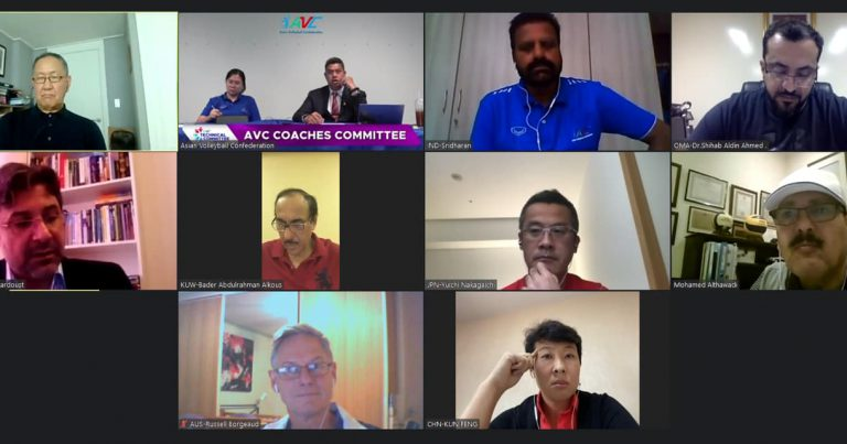 AVC COACHES COMMITTEE MEETING CONCLUDED ON HIGH NOTE