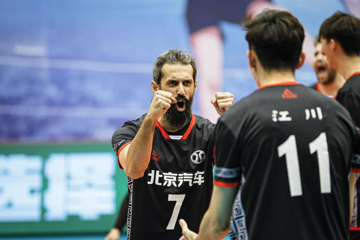 SEMIFINAL BERTHS COMPLETED FOR CHINESE MEN'S VOLLEYBALL LEAGUE