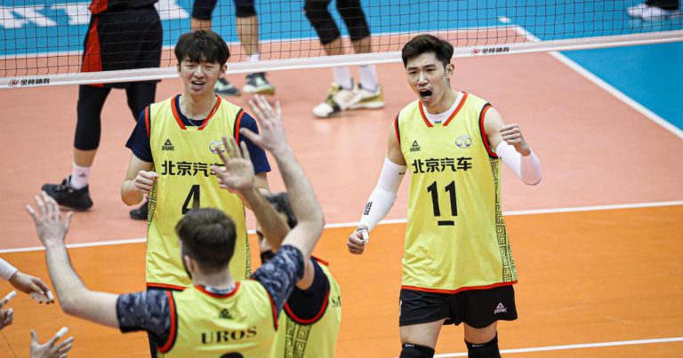 BEIJING, SHANGHAI SET UP CHINESE MEN'S VOLLEYBALL LEAGUE FINALS