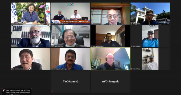 KEY ISSUES INCLUDING FIVB PROJECTS AND RULE MODIFICATIONS DISCUSSED AT AVC REFEREES COMMITTEE MEETING