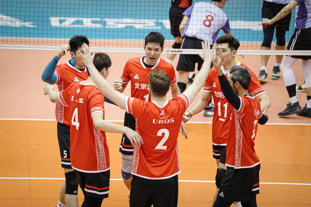 BEIJING CONTINUE WINNING STREAK, SHANGHAI BOUNCE BACK IN CHINESE MEN'S VOLLEYBALL LEAGUE