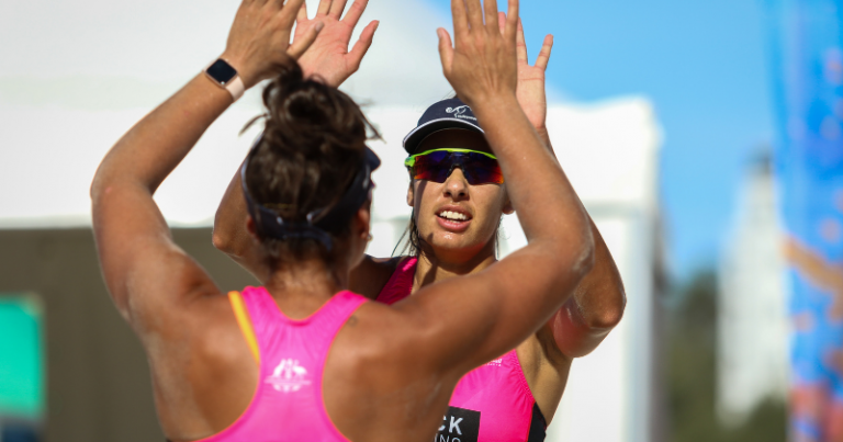 OLYMPIC BEACH VOLLEYBALL STARS SHINE IN IMPRESS TOUR FINAL AT COOLANGATTA
