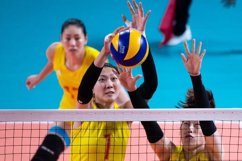 TALL AND TOWERING YUAN XINYUE JOINS TIANJIN WOMEN'S VOLLEYBALL CLUB