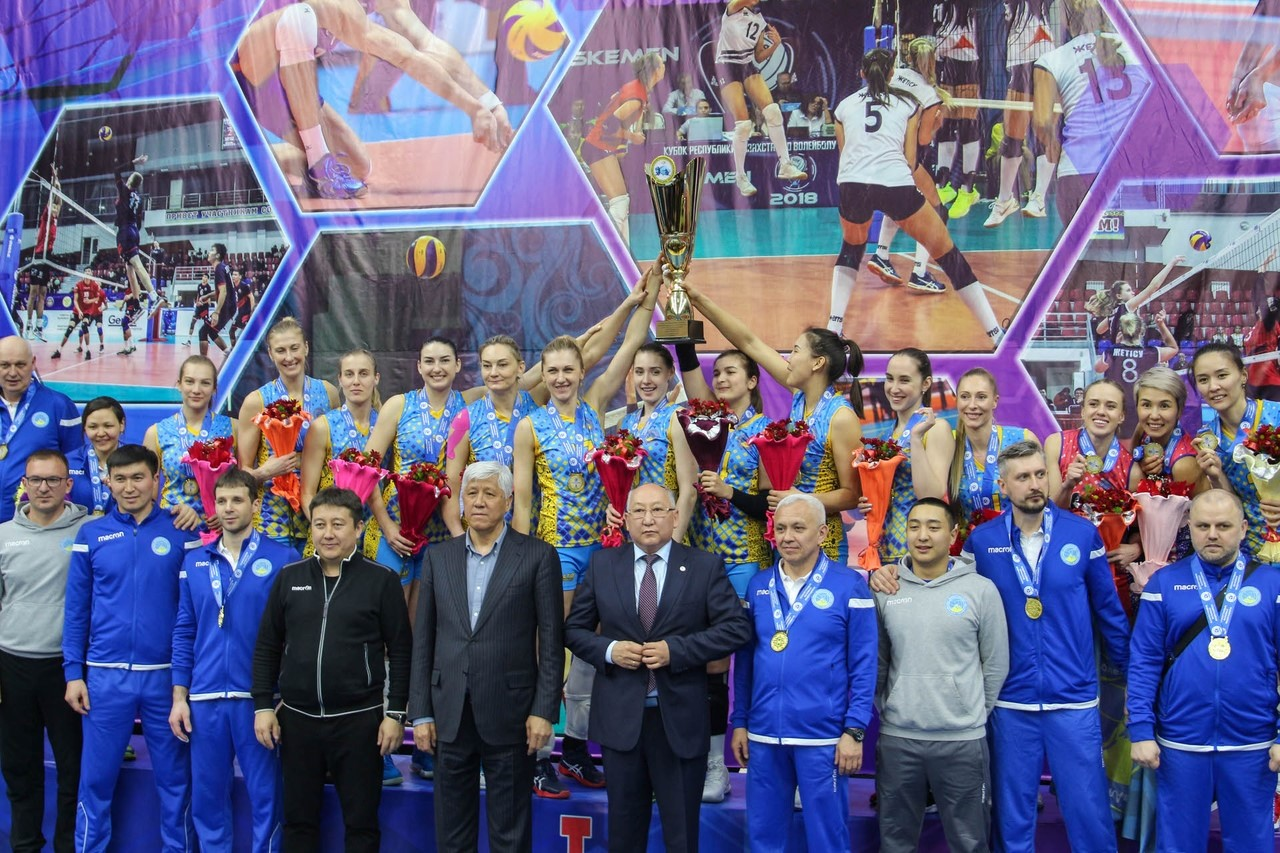 KAZAKHSTAN VOLLEYBALL HAS REACHED NEW HEIGHTS