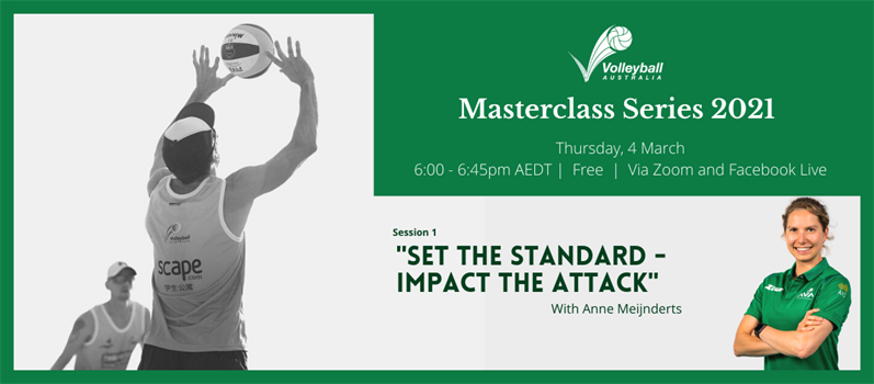 COACHES INVITED TO JOIN VA MASTERCLASS SERIES 2021 MARCH 4 FREE VIA ONLINE WEBINAR
