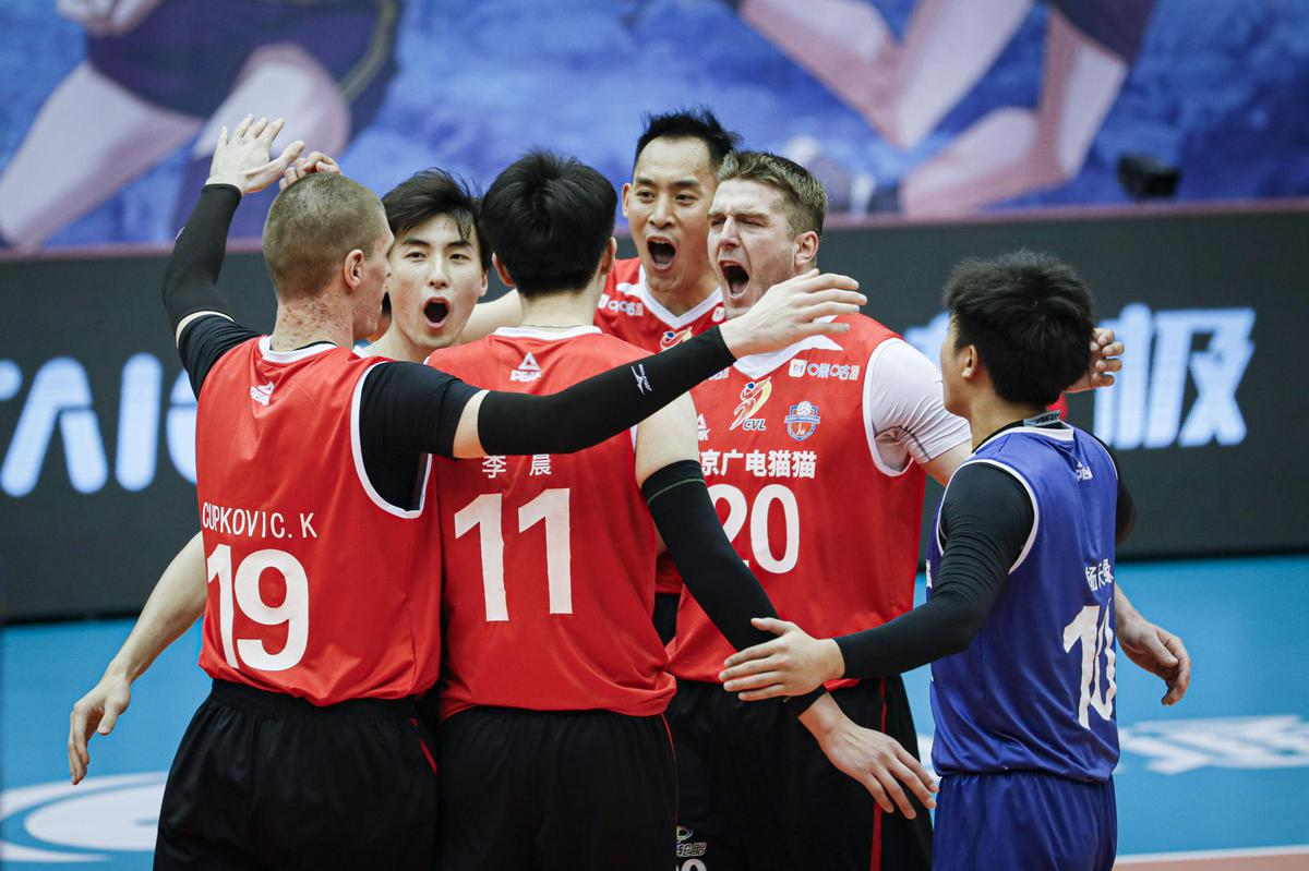 FAVOURITES BEIJING, JIANGSU WIN CHINESE MEN'S VOLLEYBALL LEAGUE OPENERS