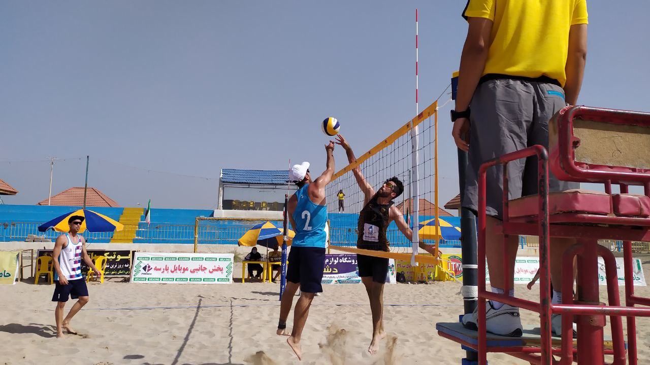 IRANIAN BEACH VOLLEYBALL SUPER LEAGUE: WATCH LIVE