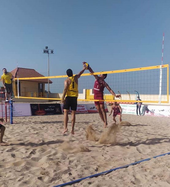 SECOND-WEEK ENCOUNTERS OF IRANIAN BEACH VOLLEYBALL SUPER LEAGUE COMPLETED