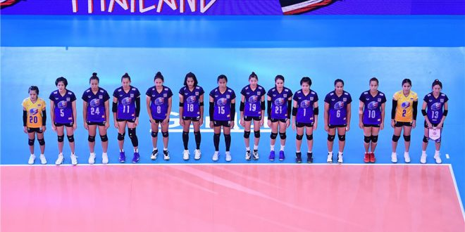 TRAINING CAMP FOR THAILAND'S 2021 VNL SQUAD SET TO START