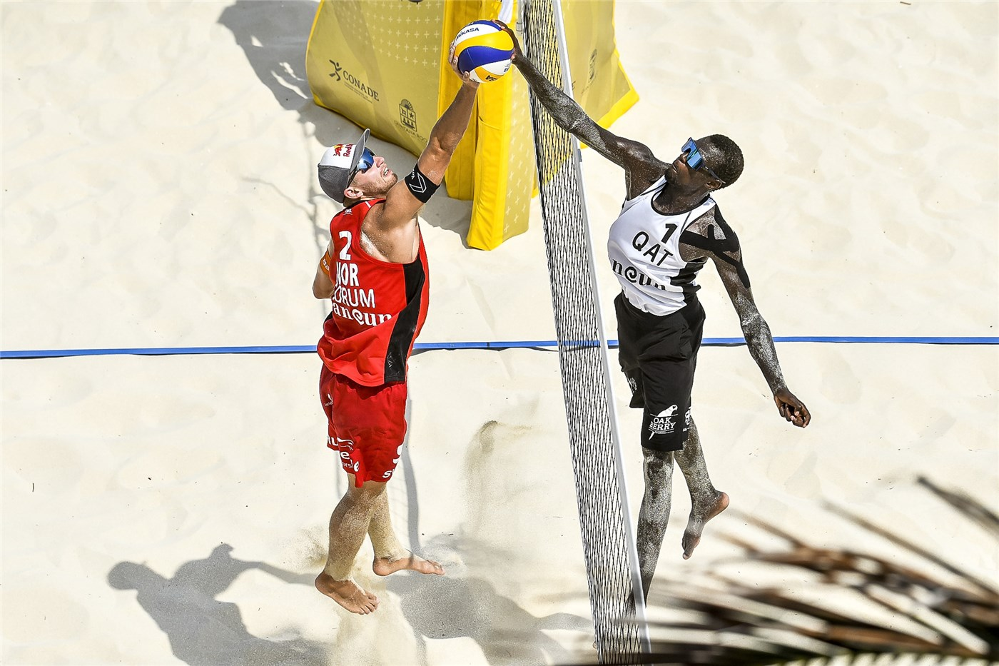 QATARIS CHERIF/AHMED CLAIM SILVER IN CANCUN